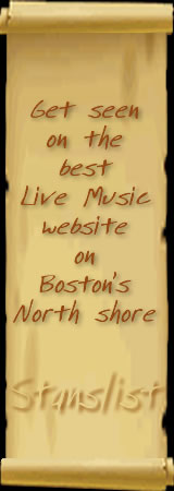 Get seen on the best Live Music website on Boston's North Shore